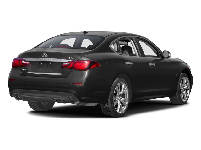 2016 INFINITI Q70 Prices and Values Sedan 4D V6 side rear view