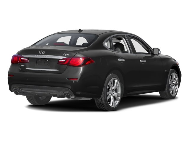 2016 INFINITI Q70 Prices and Values Sedan 4D AWD V6 side rear view