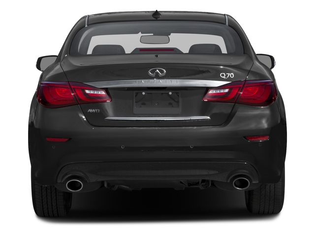 2016 INFINITI Q70 Prices and Values Sedan 4D V8 rear view