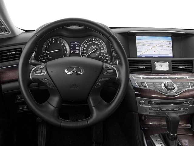 2016 INFINITI Q70 Prices and Values Sedan 4D V8 driver's dashboard