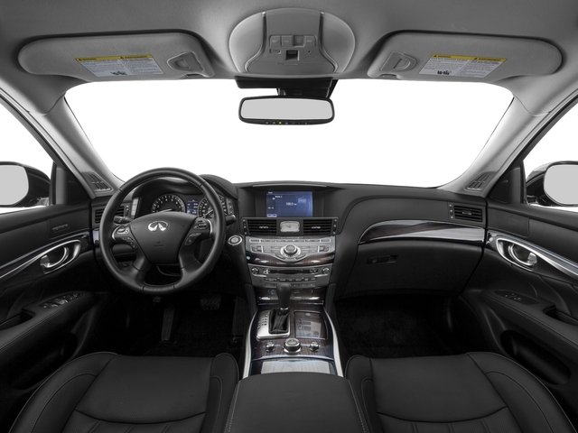 2016 INFINITI Q70 Prices and Values Sedan 4D V8 full dashboard