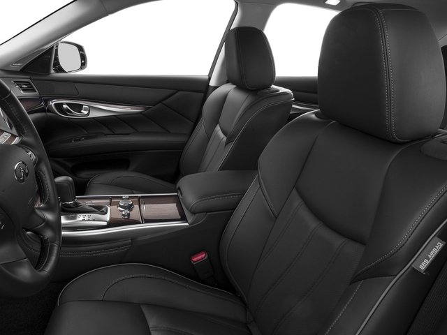 2016 INFINITI Q70 Prices and Values Sedan 4D V6 front seat interior