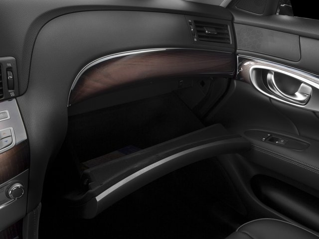 2016 INFINITI Q70 Prices and Values Sedan 4D V6 glove box