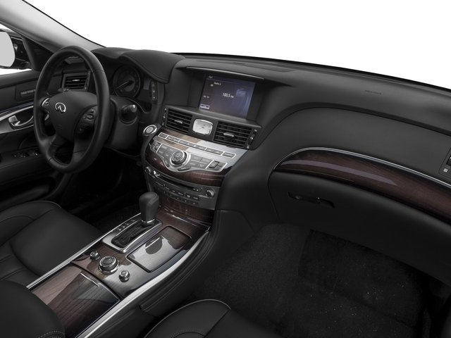 2016 INFINITI Q70 Prices and Values Sedan 4D V6 passenger's dashboard