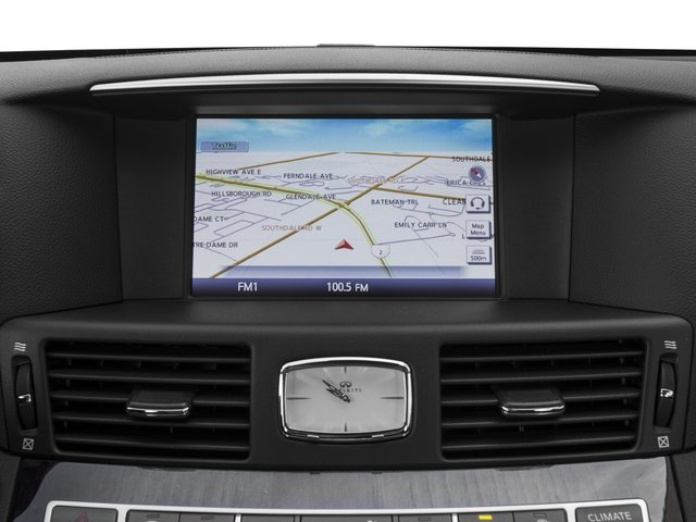 2016 INFINITI Q70 Prices and Values Sedan 4D V8 navigation system