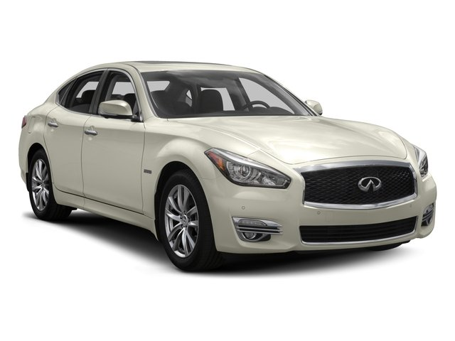 2016 INFINITI Q70h Prices and Values Sedan 4D V6 Hybrid side front view