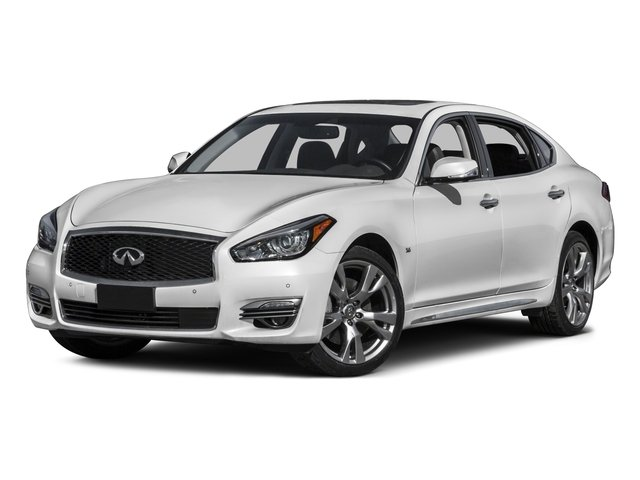 2016 INFINITI Q70L Prices and Values Sedan 4D LWB V8 side front view