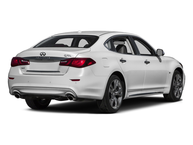 2016 INFINITI Q70L Prices and Values Sedan 4D LWB V8 side rear view