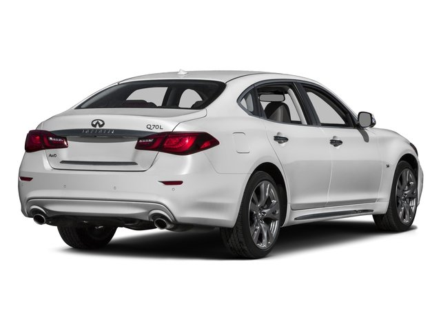 2016 INFINITI Q70L Prices and Values Sedan 4D LWB V6 side rear view