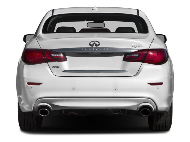 2016 INFINITI Q70L Prices and Values Sedan 4D LWB V6 rear view