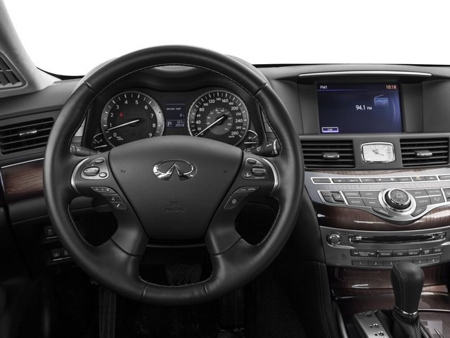 2016 INFINITI Q70L Prices and Values Sedan 4D LWB V8 driver's dashboard