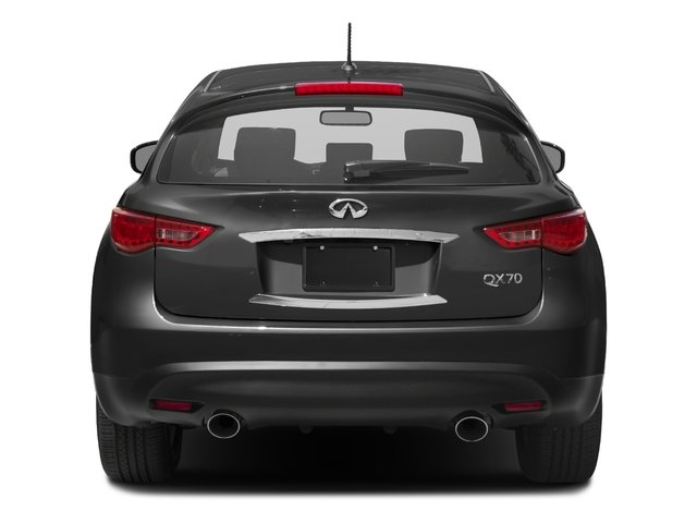 2016 INFINITI QX70 Pictures QX70 Utility 4D 2WD V6 photos rear view