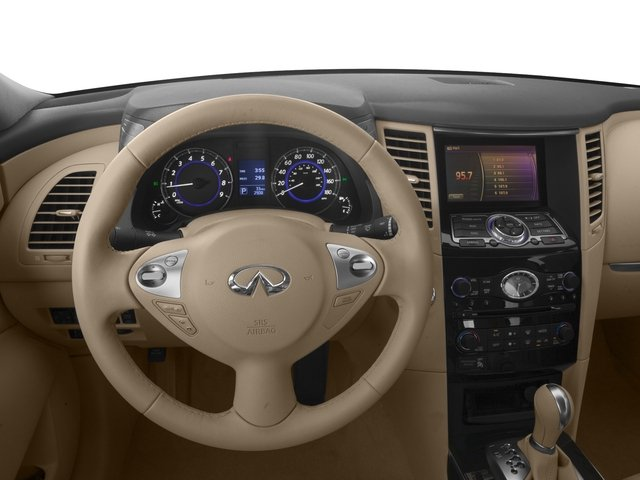 2016 INFINITI QX70 Prices and Values Utility 4D 2WD V6 driver's dashboard