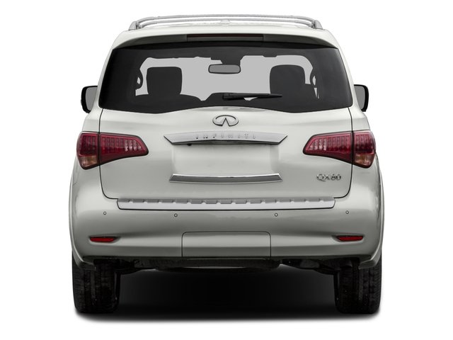 2016 INFINITI QX80 Prices and Values Utility 4D 2WD V8 rear view