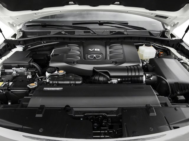 2016 INFINITI QX80 Pictures QX80 Utility 4D AWD V8 photos engine