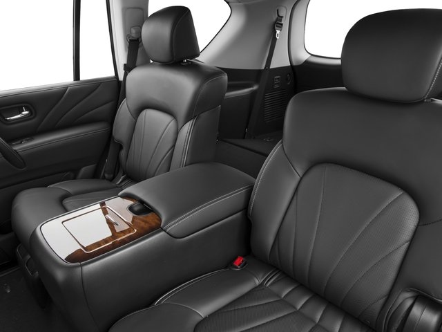 2016 INFINITI QX80 Prices and Values Utility 4D 2WD V8 backseat interior