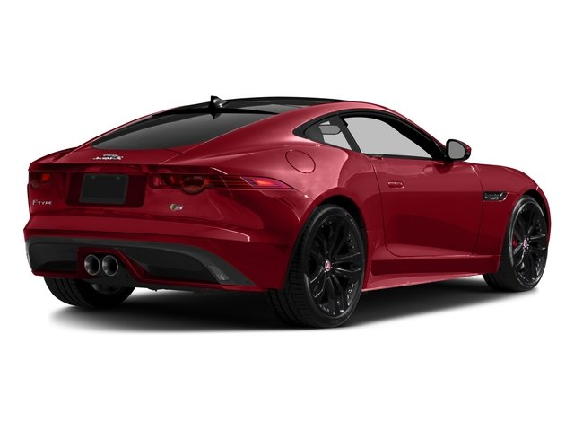 2016 Jaguar F-TYPE Prices and Values Coupe 2D S V6 side rear view