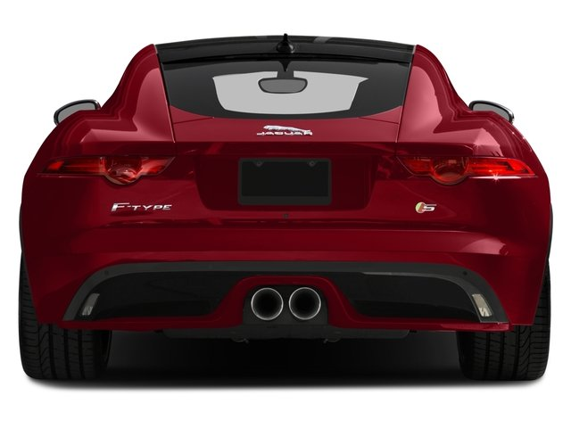 2016 Jaguar F-TYPE Prices and Values Coupe 2D S V6 rear view