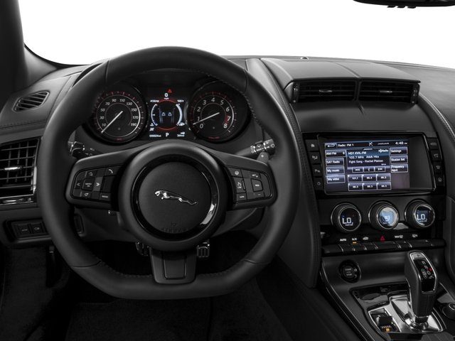 2016 Jaguar F-TYPE Prices and Values Coupe 2D S V6 driver's dashboard