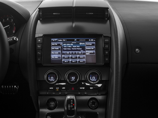 2016 Jaguar F-TYPE Prices and Values Coupe 2D S V6 stereo system