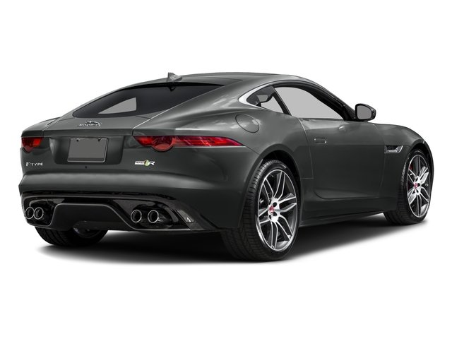 2016 Jaguar F-TYPE Prices and Values Coupe 2D R AWD V8 side rear view
