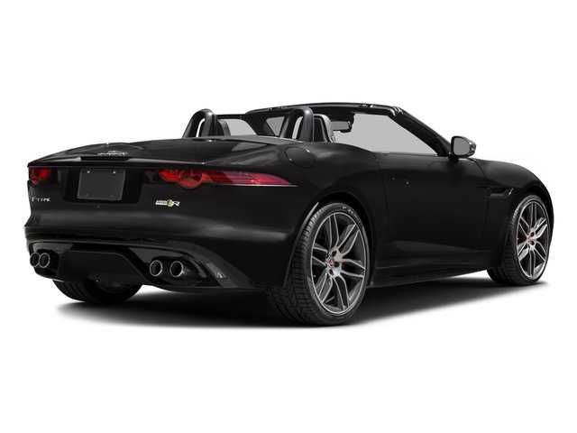 2016 Jaguar F-TYPE Prices and Values Convertible 2D R AWD V8 side rear view