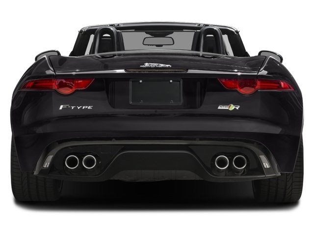 2016 Jaguar F-TYPE Prices and Values Convertible 2D R AWD V8 rear view