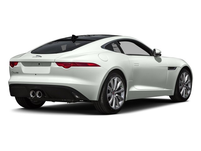 2016 Jaguar F-TYPE Prices and Values Coupe 2D V6 side rear view