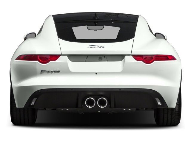 2016 Jaguar F-TYPE Prices and Values Coupe 2D V6 rear view