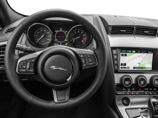 2016 Jaguar F-TYPE Prices and Values Coupe 2D V6 driver's dashboard
