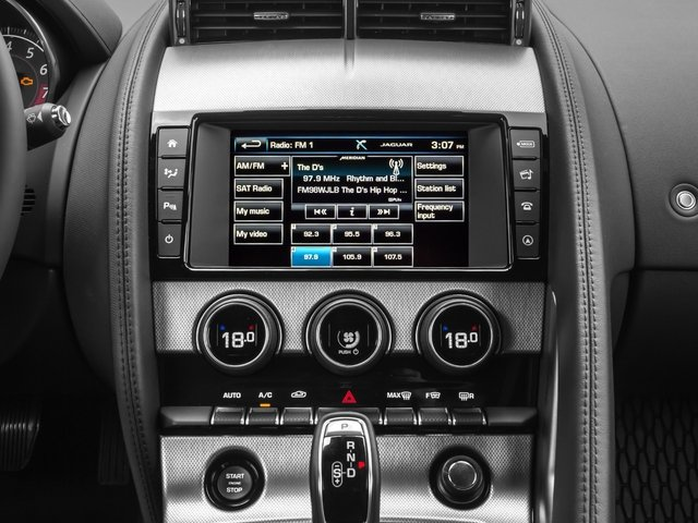 2016 Jaguar F-TYPE Prices and Values Coupe 2D V6 stereo system