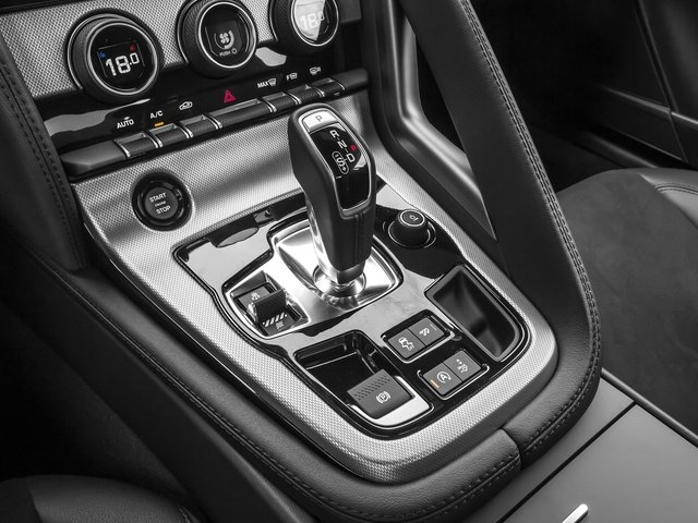 2016 Jaguar F-TYPE Prices and Values Coupe 2D V6 center console
