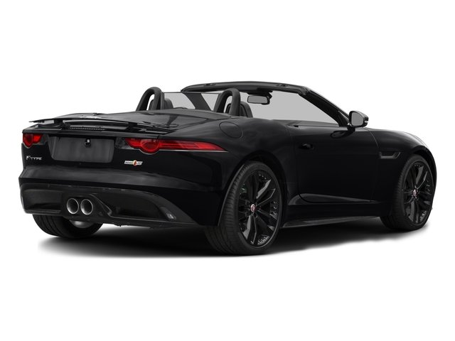 2016 Jaguar F-TYPE Prices and Values Convertible 2D S AWD V6 side rear view