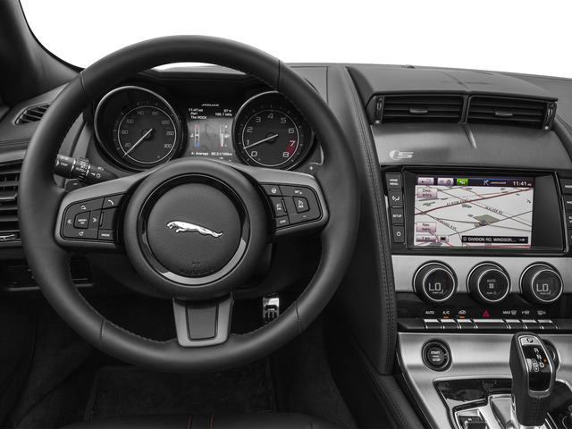 2016 Jaguar F-TYPE Prices and Values Convertible 2D V6 driver's dashboard