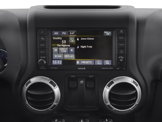 2016 Jeep Wrangler Prices and Values Utility 2D Sahara 4WD V6 stereo system
