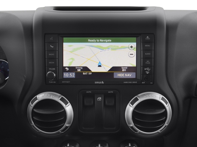 2016 Jeep Wrangler Prices and Values Utility 2D Sahara 4WD V6 navigation system