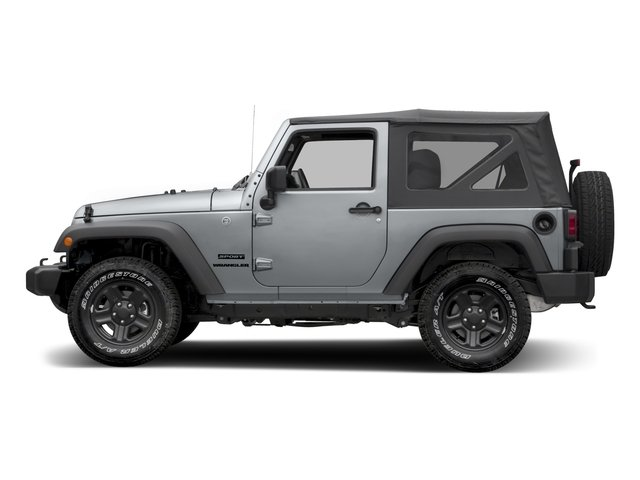 2016 Jeep Wrangler Pictures Wrangler Utility 2D Sport 4WD V6 photos side view