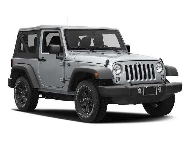 2016 Jeep Wrangler Prices and Values Utility 2D Sport 4WD V6 side front view