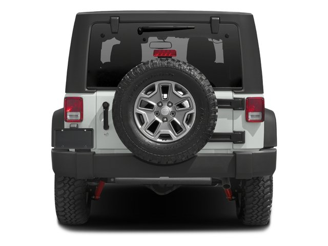 2016 Jeep Wrangler Prices and Values Utility 2D Rubicon 4WD V6 rear view