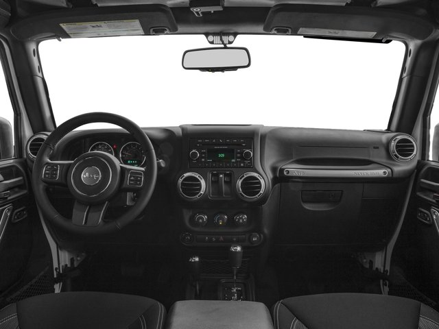 2016 Jeep Wrangler Prices and Values Utility 2D Rubicon 4WD V6 full dashboard