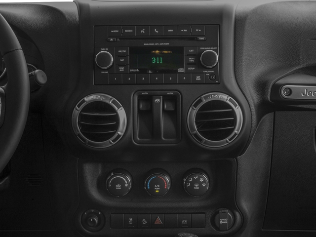 2016 Jeep Wrangler Prices and Values Utility 2D Rubicon 4WD V6 stereo system