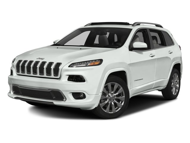 2016 Jeep Cherokee Pictures Cherokee Utility 4D Overland 2WD photos side front view