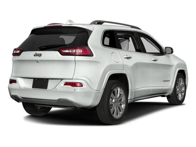 2016 Jeep Cherokee Pictures Cherokee Utility 4D Overland 4WD photos side rear view