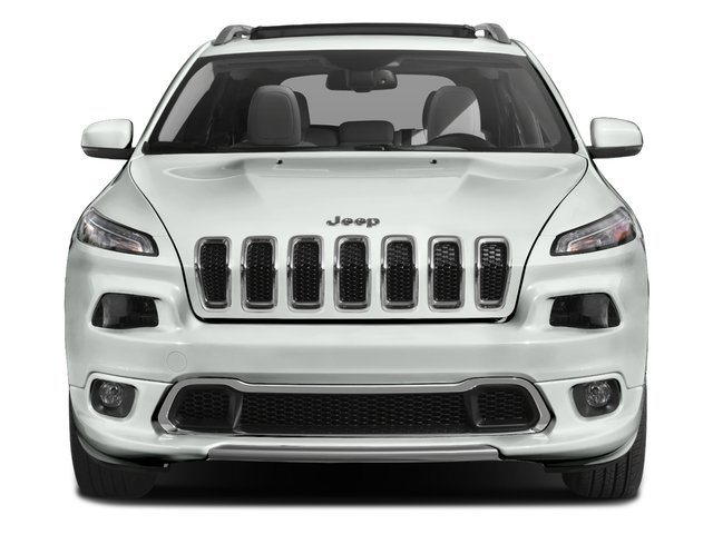 2016 Jeep Cherokee Prices and Values Utility 4D Overland 2WD front view