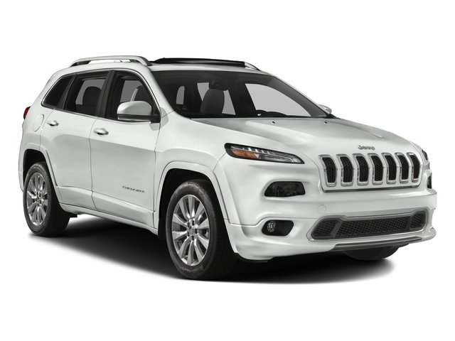 2016 Jeep Cherokee Prices and Values Utility 4D Overland 2WD side front view