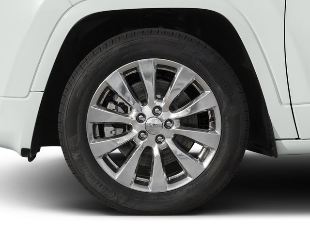 2016 Jeep Cherokee Prices and Values Utility 4D Overland 2WD wheel