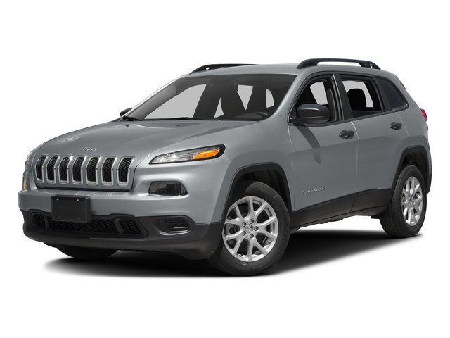 2016 Jeep Cherokee Prices and Values Utility 4D Sport 4WD side front view