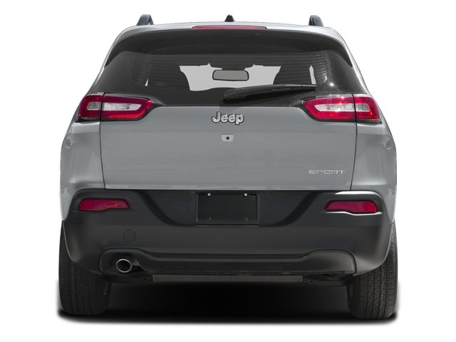 2016 Jeep Cherokee Prices and Values Utility 4D Sport 4WD rear view