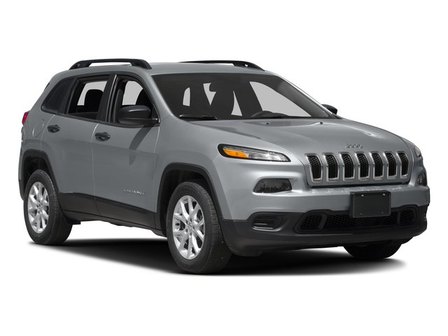 2016 Jeep Cherokee Prices and Values Utility 4D Sport 4WD V6 side front view