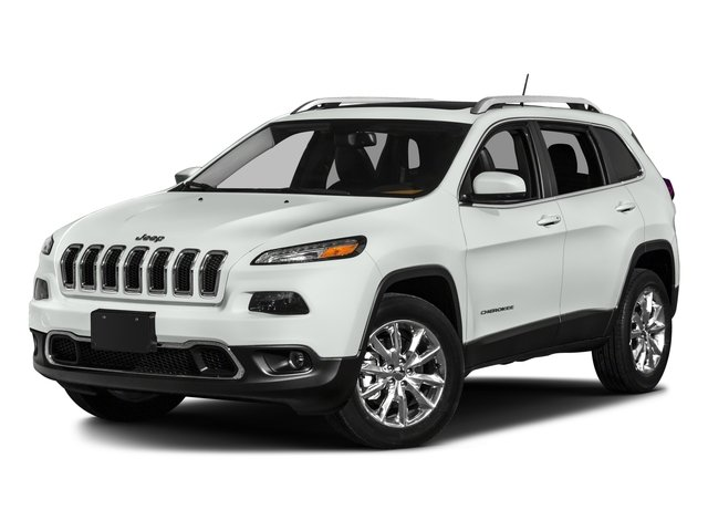 2016 Jeep Cherokee Prices and Values Utility 4D Limited 2WD side front view